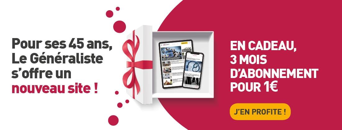 Offre spécial anniversaire, 3 mois d'abonnement pour 1€
